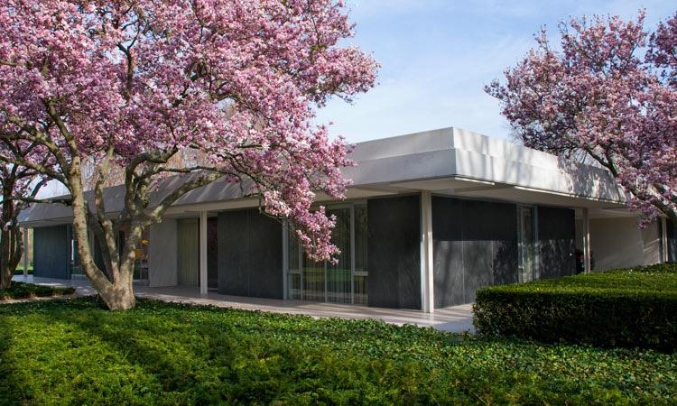 Garden In House miller house and garden - a mid-century-modern masterpiece