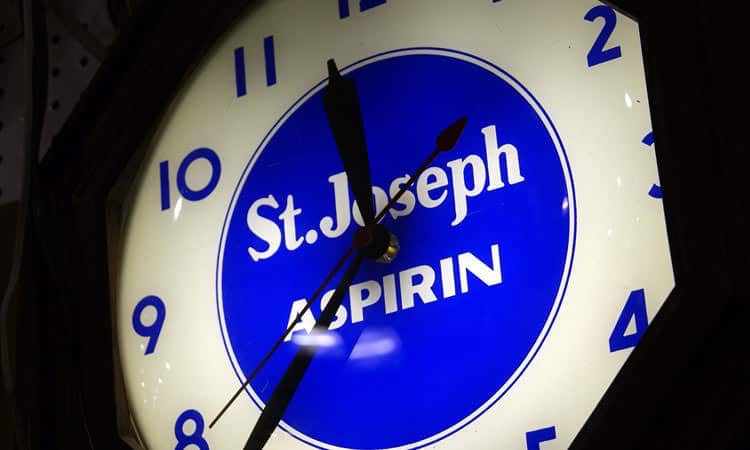 exit-76-antique-mall-st-joseph-aspirin-clock