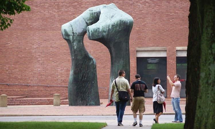 Henry Moore, Large Arch, Columbus, Indiana
