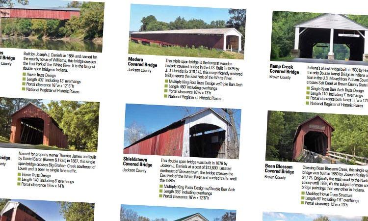 Covered Bridge Loop brochure