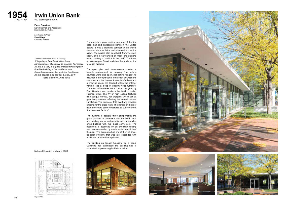A Look at Architecture book, two-page spread 1