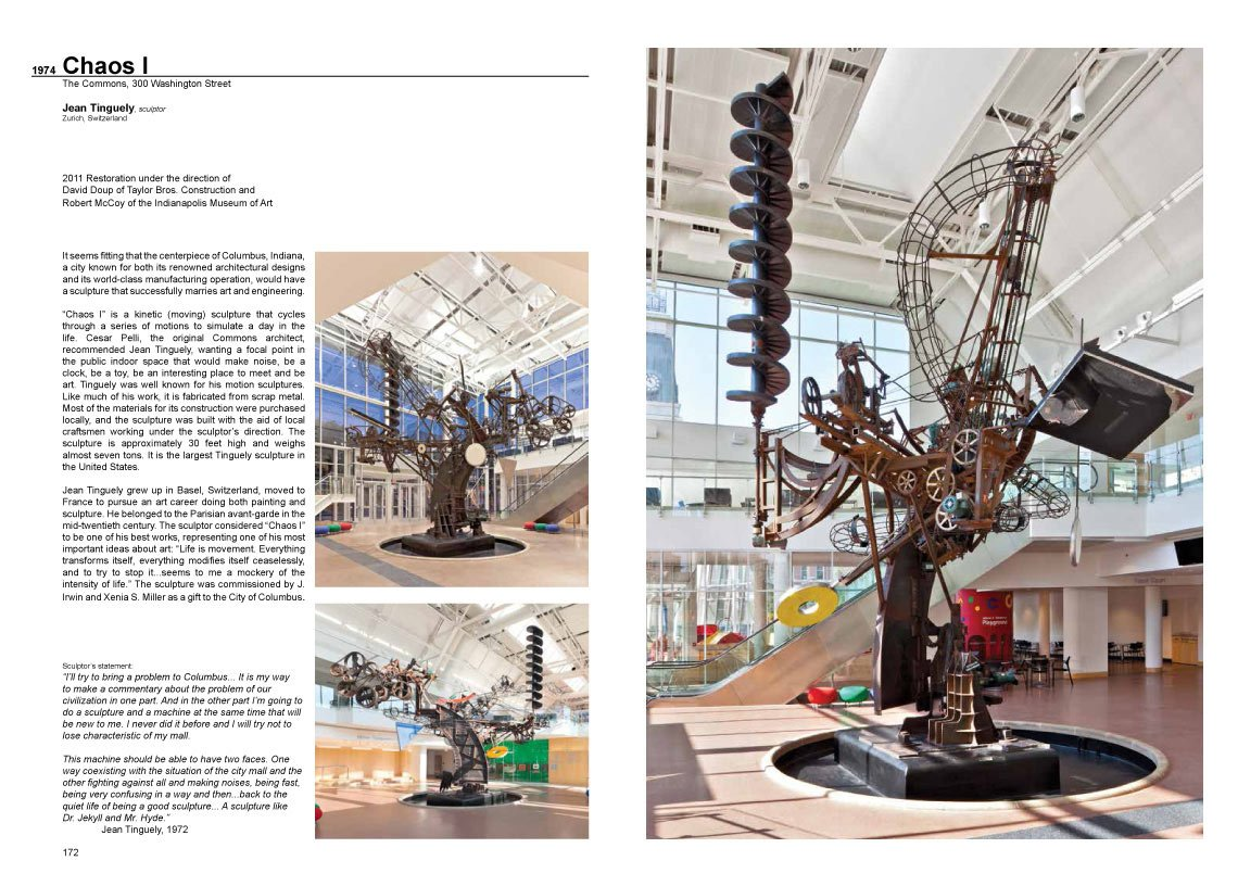 A Look at Architecture book, two-page spread 2