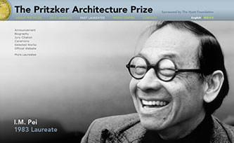Pritzker Prize page, I.M. Pei
