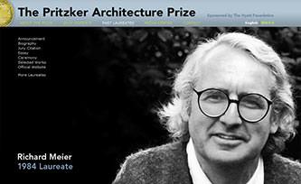 Pritzker Prize winner Robert Meier