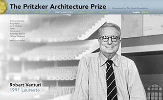 Pritzker Prize winner Robert Venturi