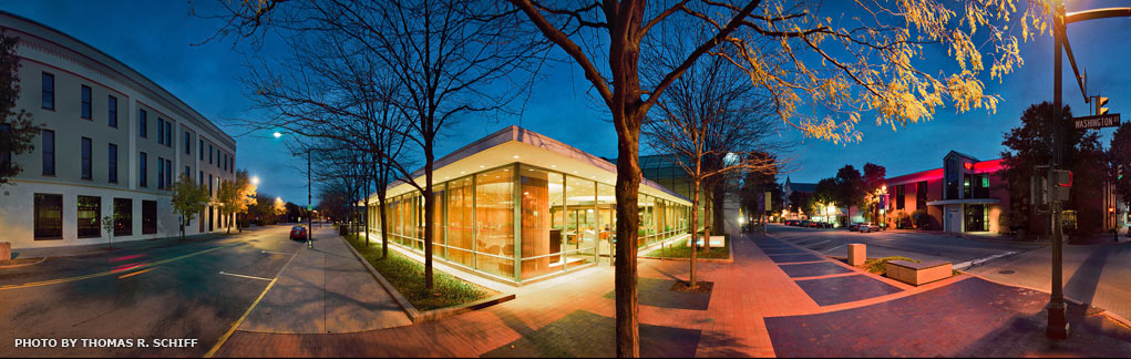 Irwin Conference Center panorama, by Thomas Schiff