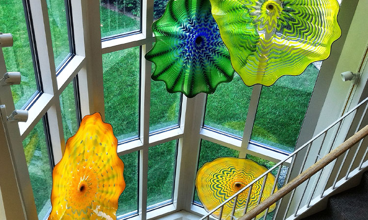 Dale Chihuly's Persians, Columbus Indiana Visitors Center