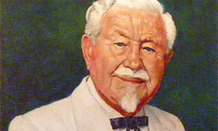 Colonel Sanders by Norman Rockwell