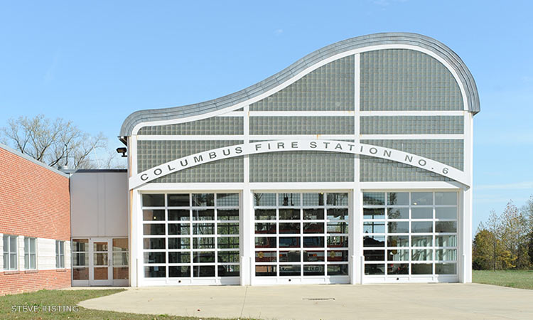Fire Station Six, William Rawn
