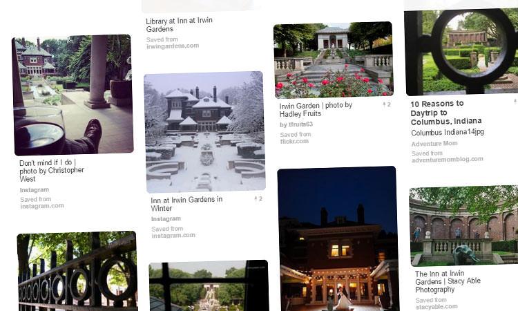 Pinterest Board - Inn at Irwin Gardens