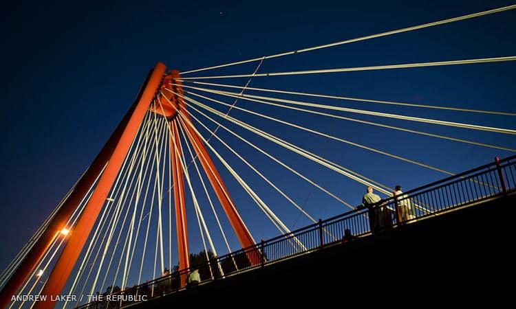 Robert Stewart Bridge - photo by Andrew Laker, The Republic