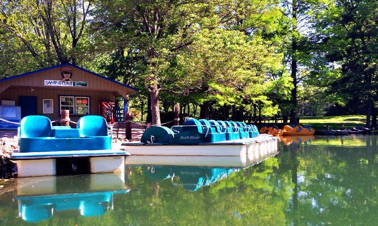 CERA Park paddleboats