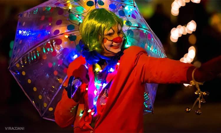 Festival of Lights Parade - Columbus, Indiana - photo by Virajjani