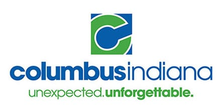 Columbus Indiana Visitors Center brand logo