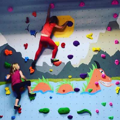 Bouldering at Columbus Rock Gym