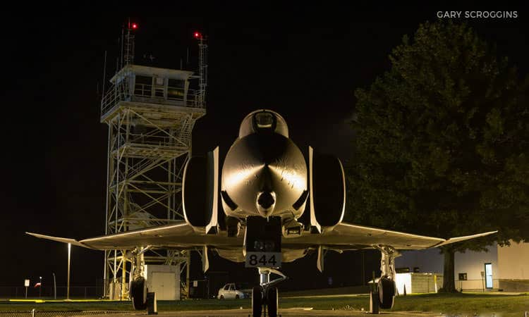 Fighter Jet - photo by Gary Scroggins