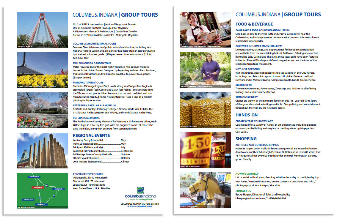 group tours profile sheet
