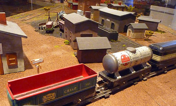Bartholomew County History Center train set