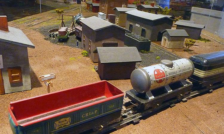 train set at Bartholomew County History Center
