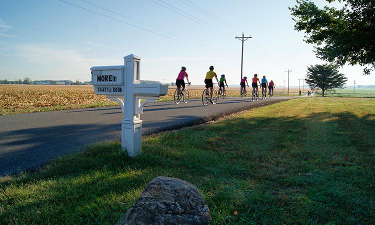 Hope Bike Ride - Hope, Indiana