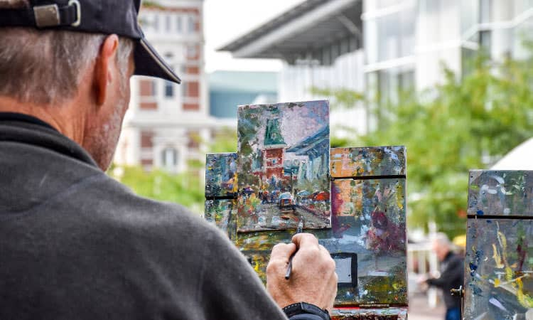 ArtFest plein air painter