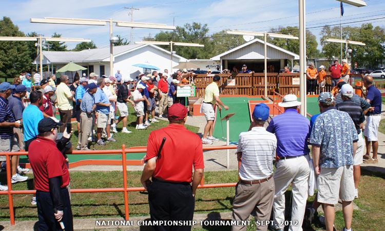 2012 Professional Putters Association National Championship, Columbus, Indiana