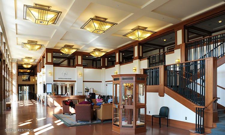 Columbus Regional Hospital interior - Robert A.M. Stern