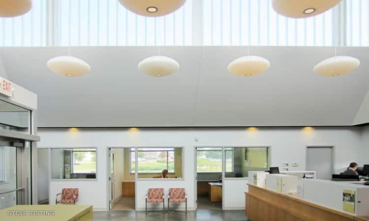 First Financial Bank interior, Deborah Berke