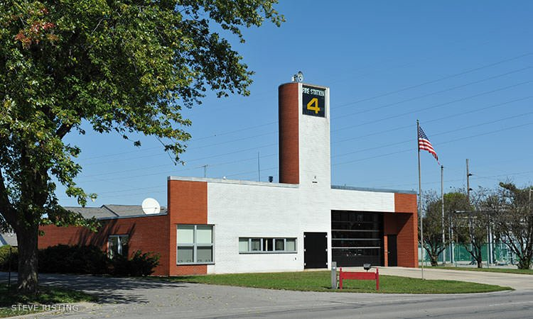 Fire Station 4, Robert Venturi - Columbus, Indiana