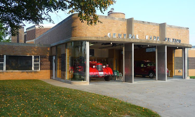 Fire Station 1, Columbus, Indiana