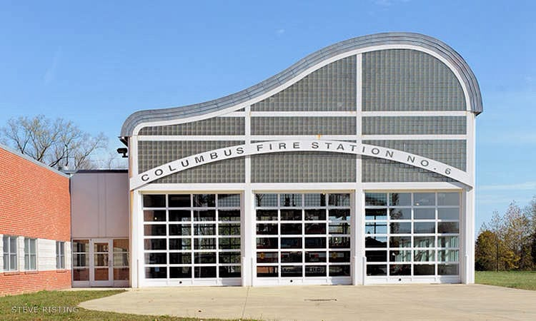 Fire Station 6, William Rawn - Columbus, Indiana