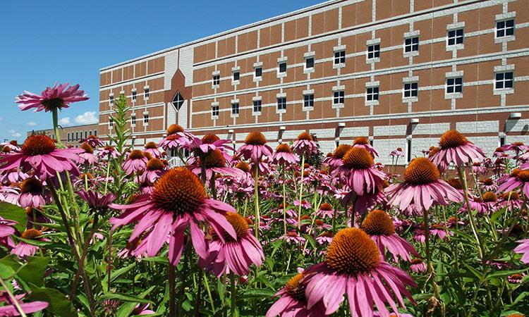 Bartholomew County Jail - Columbus, Indiana - south side - photo by Don Nissen