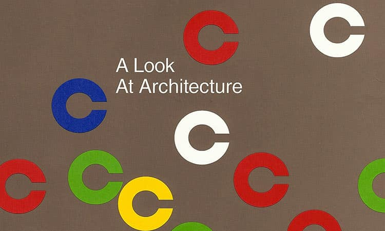 A Look at Architecture book cover design by Paul Rand