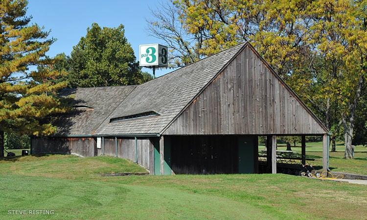 Par 3 Clubhouse, Bruce Adams, Columbus, Indiana