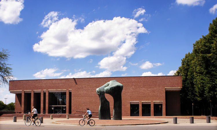Cleo Rogers Memorial Library - I.M. Pei