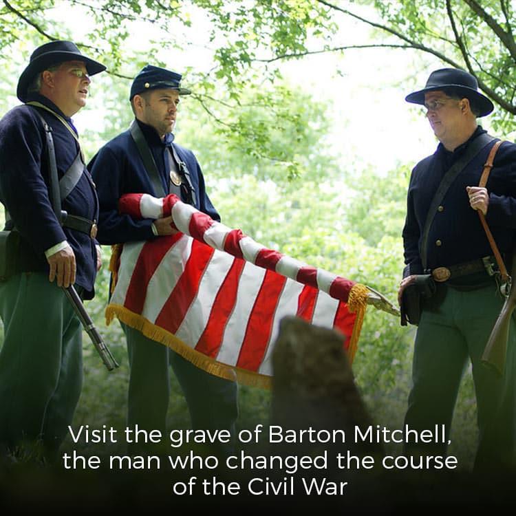 Barton Mitchell gravesite