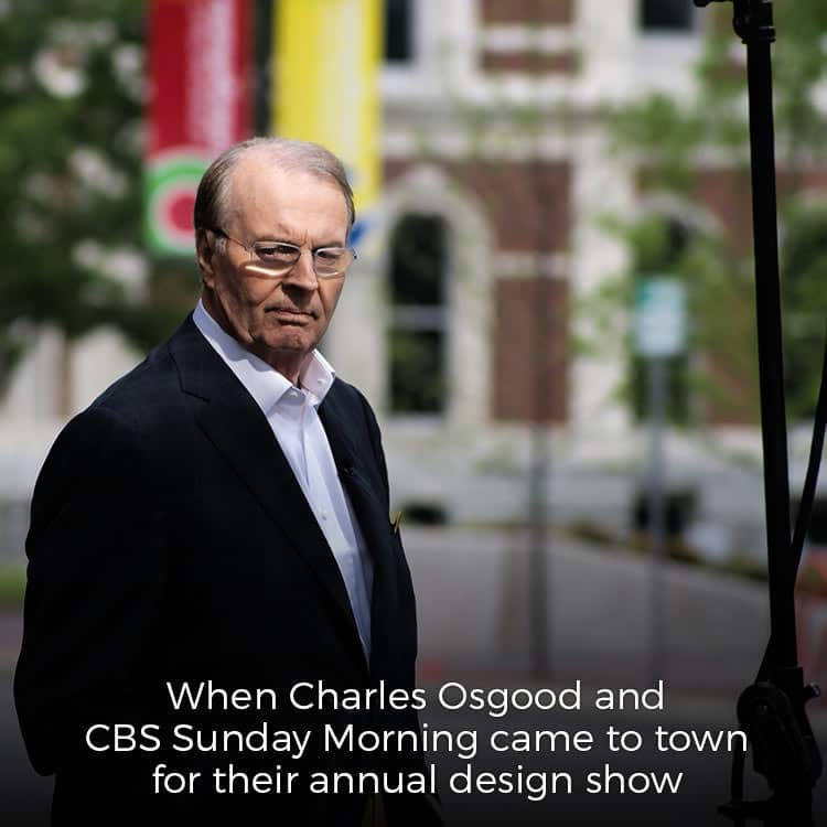 CBS Sunday Morning show in Columbus