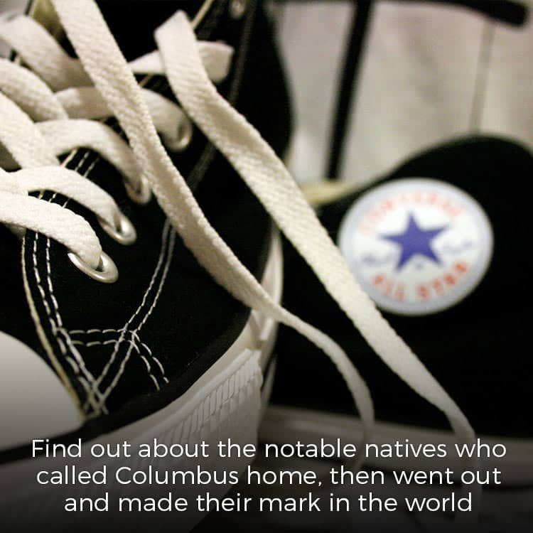 Chuck Taylor shoes and the connection to Columbus, Indiana