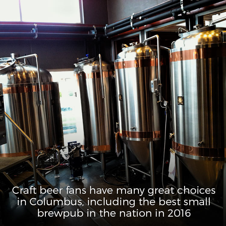 Craft beer in Columbus Indiana