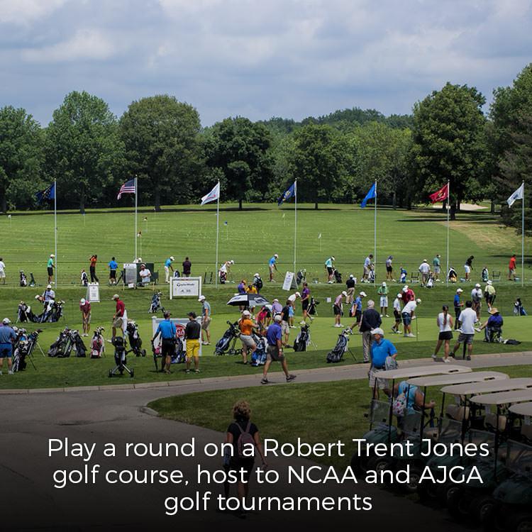 Play Otter Creek Golf Course, by Robert Trent Jones
