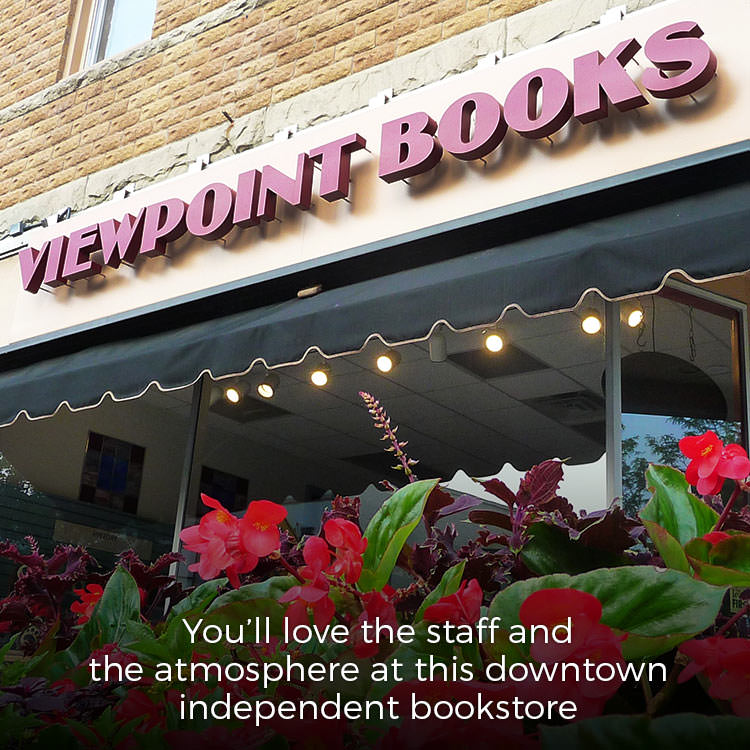 Viewpoint bookstore, Columbus, Indiana