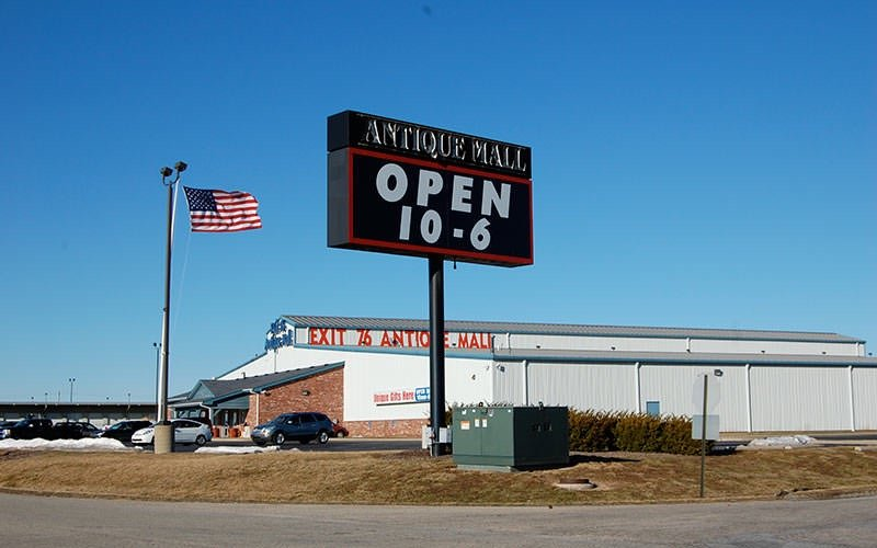 Antique Mall, by Amy Lynch
