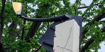 Counterpoint sculpture, detail