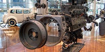 Exploded Engine - Cummins Museum