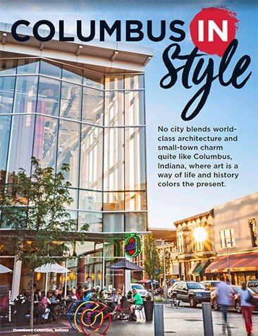 Midwest Living Columbus IN Style cover