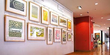 Phi Gallery display
