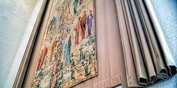 Sermon on the Mount tapestry, Eliel and Loja Saarinen