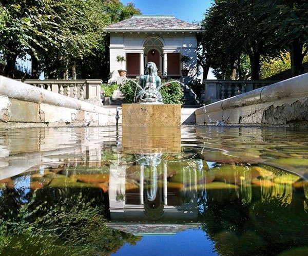 Inn at Irwin Gardens - fountain