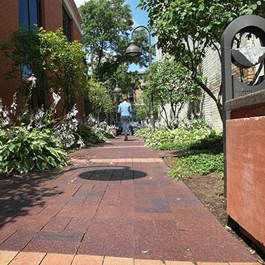 alley walkway project - Columbus