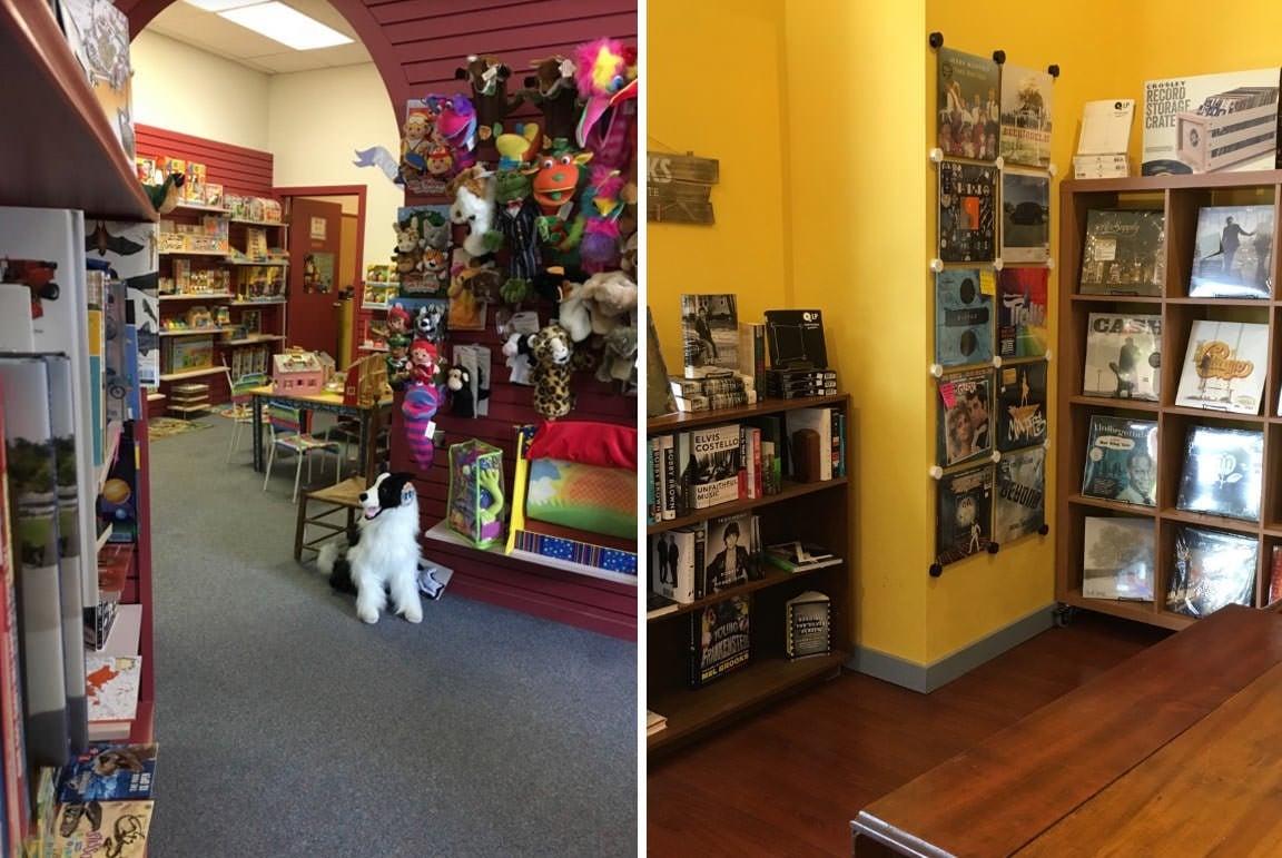 Viewpoint Books - Columbus, interior